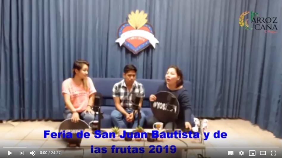 Feria de San Juan Bautista y de las frutas 2019