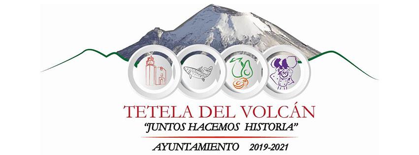 Logotipo oficial Tetela del Volcán Morelos. H. Ayuntamiento Municipal 2019-2021